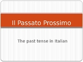 Passato Prossimo with Avere and Essere - Rules and example