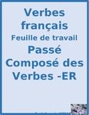 Passé Composé ER French Verbs Worksheet 3