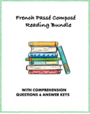 Passé Composé French Reading Bundle: Top 4 Readings @30% off!