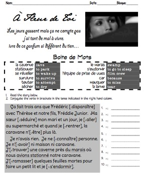 Passé Composé & Imparfait: Sequence of SONGS linked by an