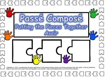 Passé Composé Putting the Pieces Together Avoir