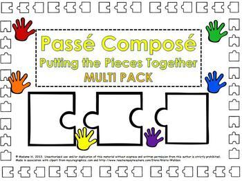 Passé Composé Putting the Pieces Together Multi Pack