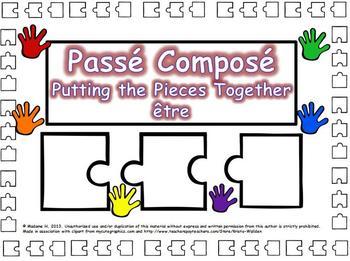 Passé Composé Putting the Pieces Together être