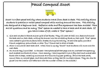 Passé Composé Scoot