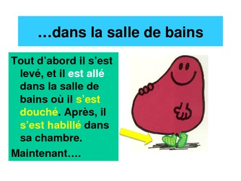 Passe Compose Story: AVOIR, VANDY, REFLEXIVE. Daily Routine Story