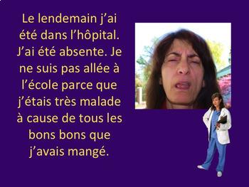 French Passé Composé Irregulier TPR Story