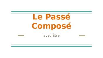 Passe Compose avec Etre Lesson/Slideshow