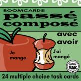 Passé Composé (avoir, -er verbs) French BOOM Cards for Dis