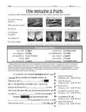 Passé Composé practice (avoir & être) with interpretive reading #1