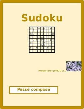 Passé Composé French Regular verbs Sudoku