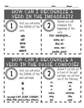 Passé Composé vs. Imparfait: How to recognize which is which