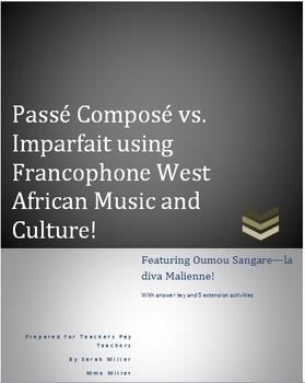 Passe Compose vs. Imparfait using Francophone West African Music