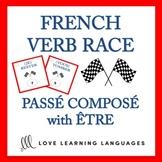 Passé Composé with Être - French Verb Race Game