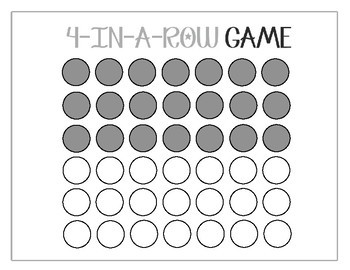 Passe Compose Game with Avoir - Connect Four in a row (84 verbs)