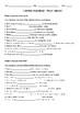 Passé Composé worksheets