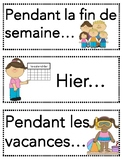 French Verb Bundle- Passé Composé Visuals and Prompts