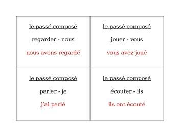 Passé composé of ER verbs Question Question Pass activity