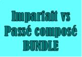 Passé composé vs Imparfait French Bundle