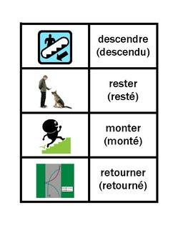 Passé Composé avec être French Concentration games