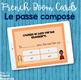 Passé composé task cards - Boom cards