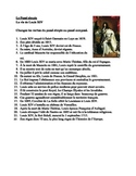 Passé Simple in French Life of Louis XIV Worksheet