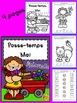 Passe-temps - Mai - Maternelle