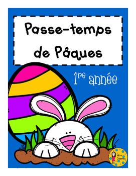 Passe-temps - Pâques - 1re année