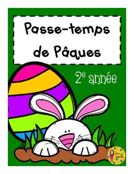 Passe-temps - Pâques - 2e année