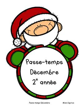 Passe-temps de Noël - 2e année