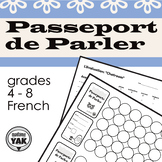 Passeport de Parler: track and evaluate students' French l