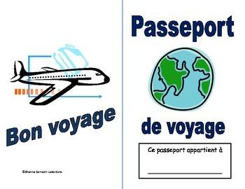 Passeport de voyage fictif