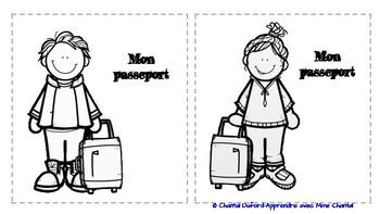 Passeport-voyage autour du monde