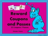Passes / Coupons (Rewards for Behavior Management)