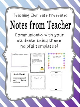 Note Templates