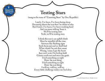 Testing Song Lyrics Counting Stars
