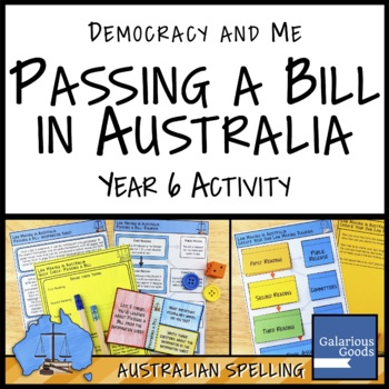 Passing a Bill in Australia Activity (Year 6 HASS)