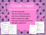 Passion Project: A Project Based Learning Unit