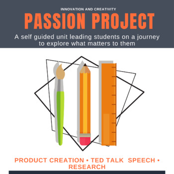 Passion Project- Genius Hour- 20% BUNDLE