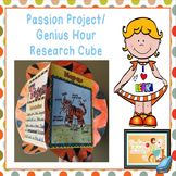 Passion Project/Genius Hour Differentiated Research Cube