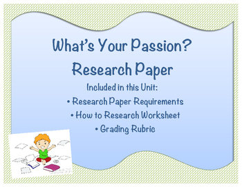 Passion Project Research Paper