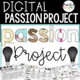 DIGITAL Passion Project Research Trifold