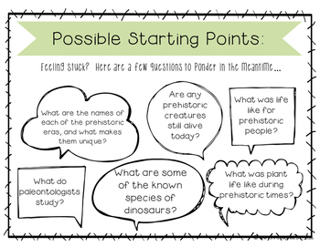 Passion Project Snippets: Prehistoric Life