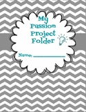 Passion Project Student Activity Folder