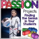 Passion Projects Project Based Learning Distance Learning