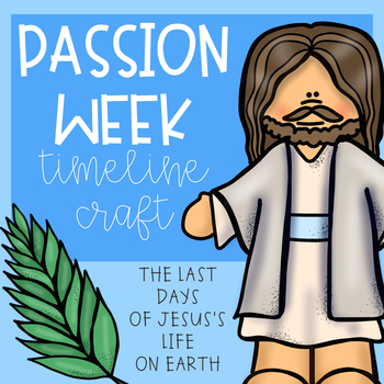 Passion Week Craftivity