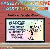 Passive Aggressive Assertive Communication Lesson | Social