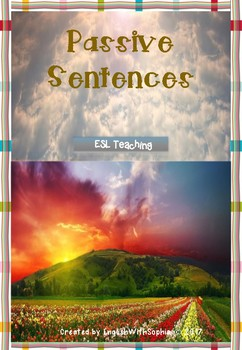 Passive Sentences Activity