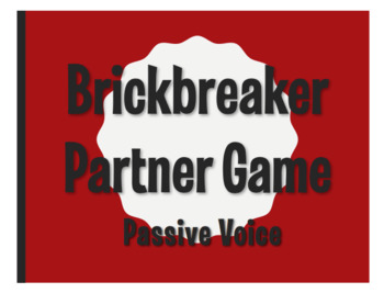 Spanish Passive Voice Brickbreaker Partner Game