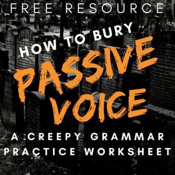 Passive Voice Grammar Practice Worksheet