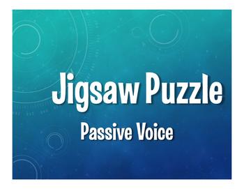 Spanish Passive Voice Jigsaw Puzzle